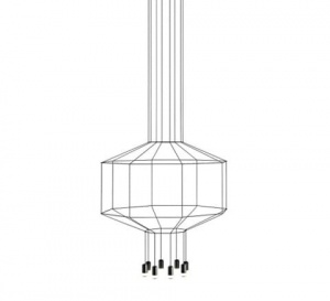 Lampa WIRE FLOW - 1