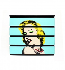 Komoda z Marylin Monroe w stylu Pop-art